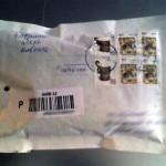 конверт с флешкой