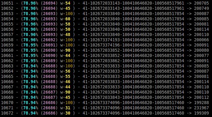 Вывод цветных данных скрипта в командную строку
